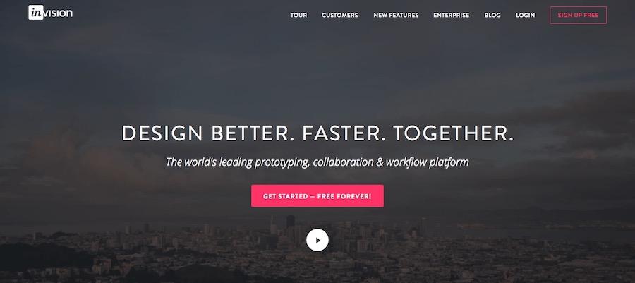 invision设计工具