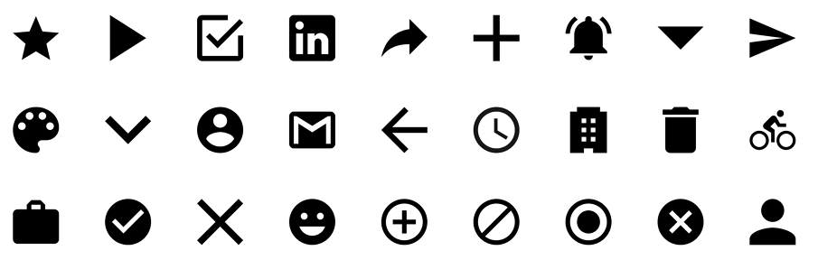 Material Icons Design from Flaticon图标