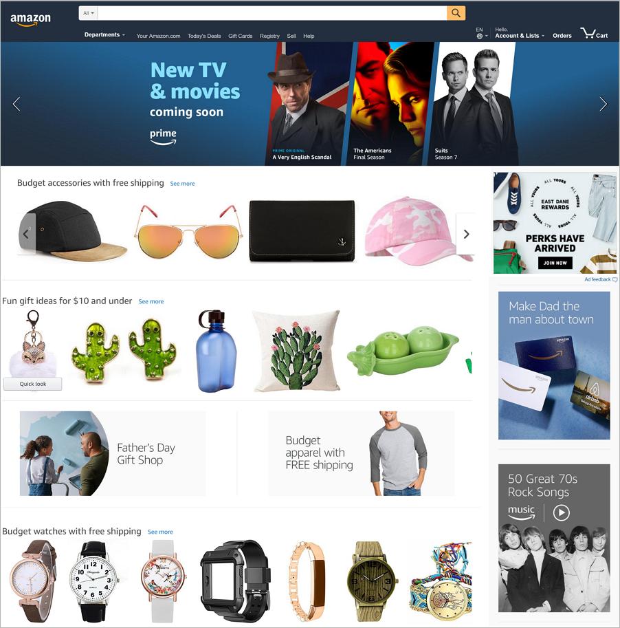 使用网格使内容和元素的布局组织有序的网页设计