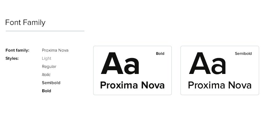 字体设计规范