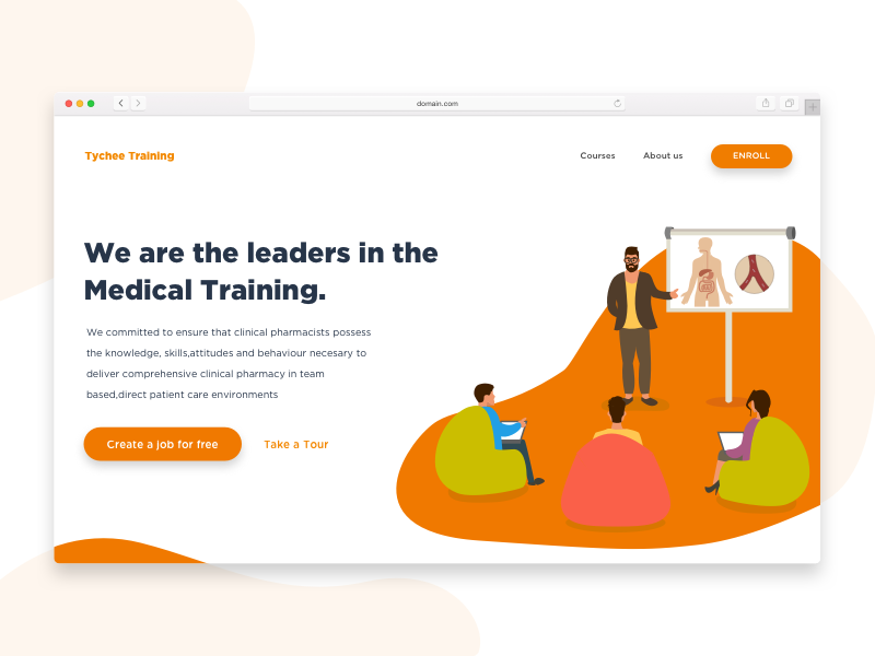医疗类网站设计