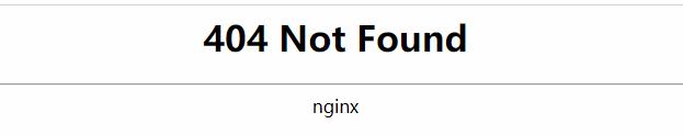 404页面没有链接
