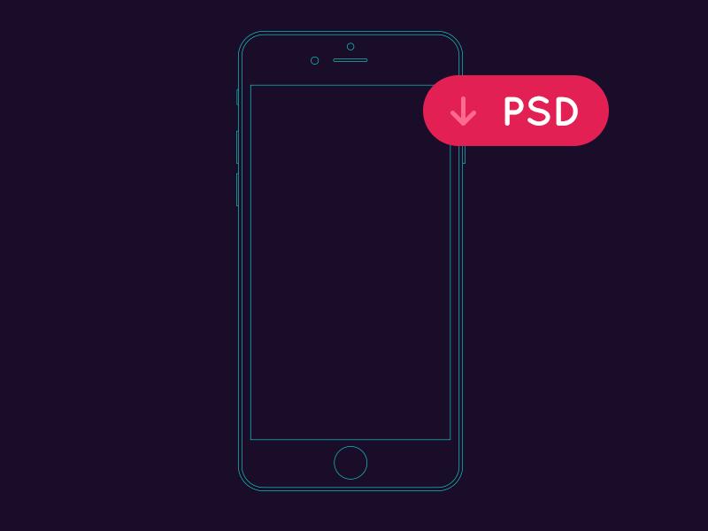 iPhone6 线框图