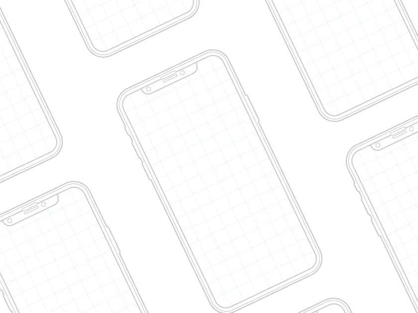 可供A4打印格式的线框图