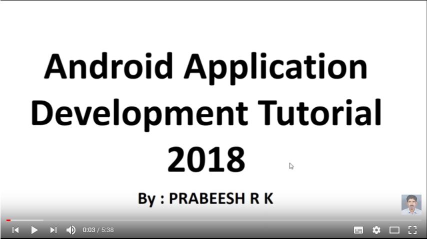 Android开发系列教程