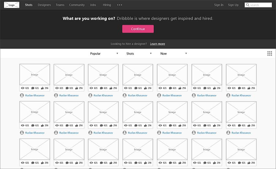 优秀网页设计模板