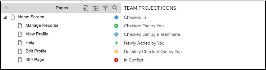 协作项目编辑支持5种页面编辑状态