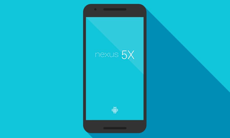Nexus 5x手机模板