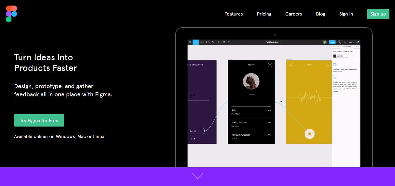 基于web端的在线协作设计平台-Figma