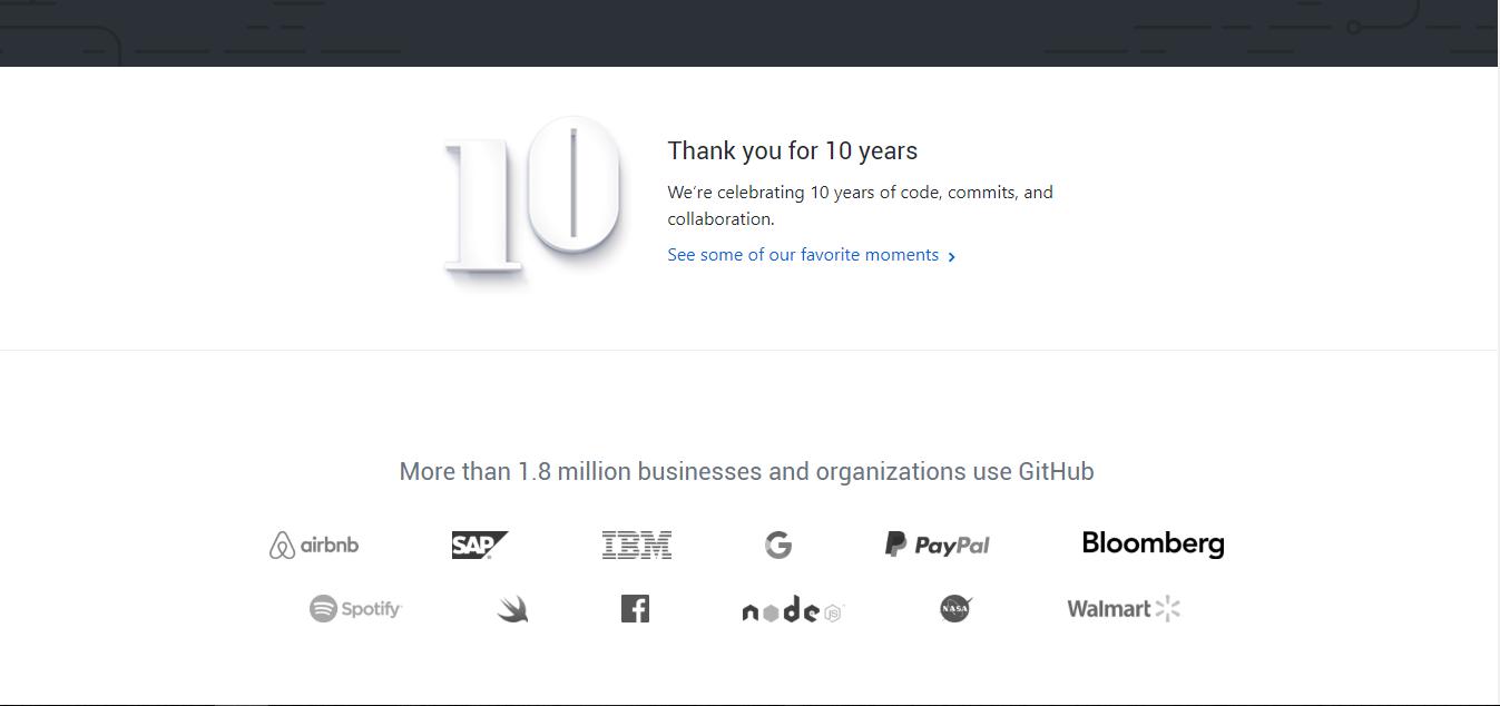 网页开发社区类GIthub
