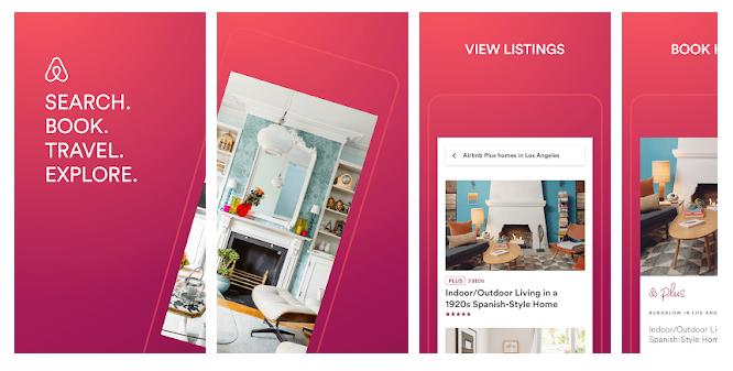 安卓材料设计主题手机应用Airbnb