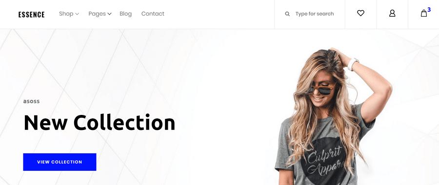 Essence网站模板
