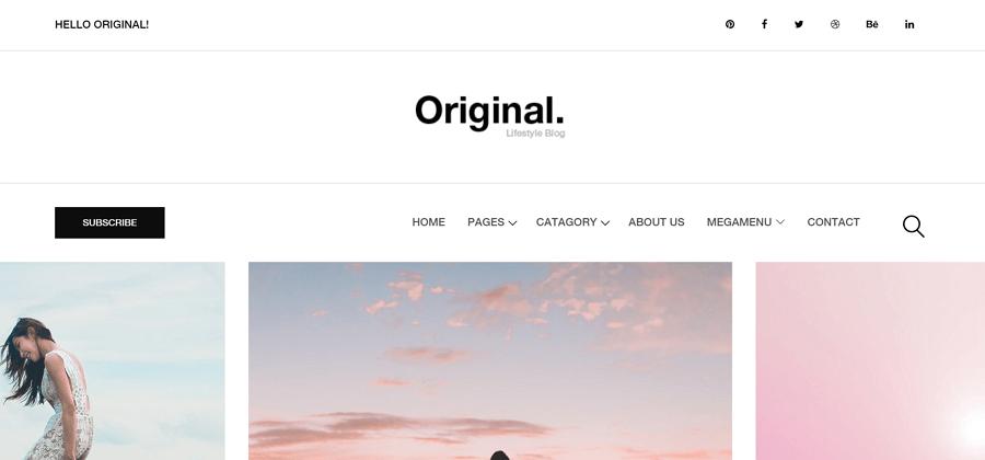 Original网站模板