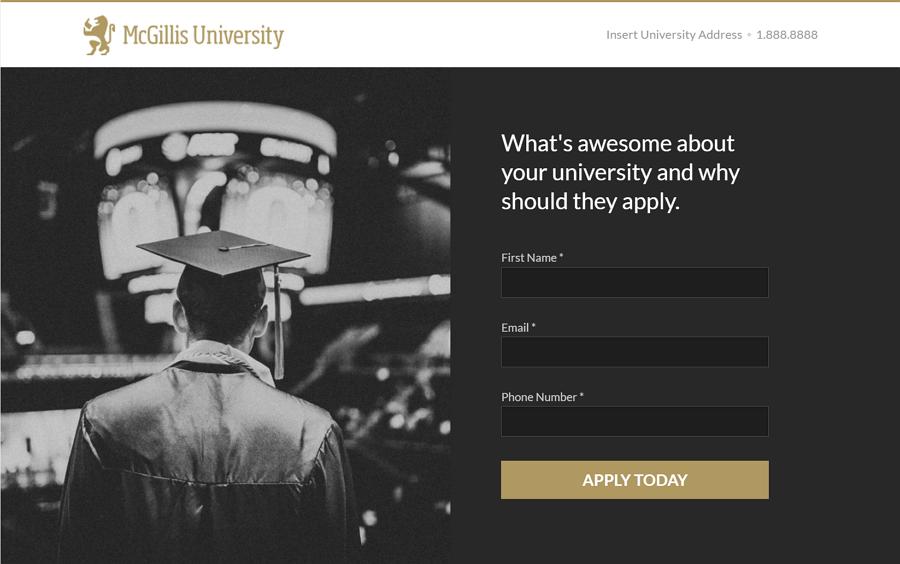 免费的高等教育机构Wordpress着陆页面主题模板-Mggillis