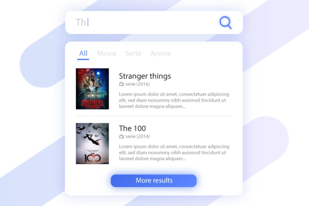 搜索框设计 - search hint