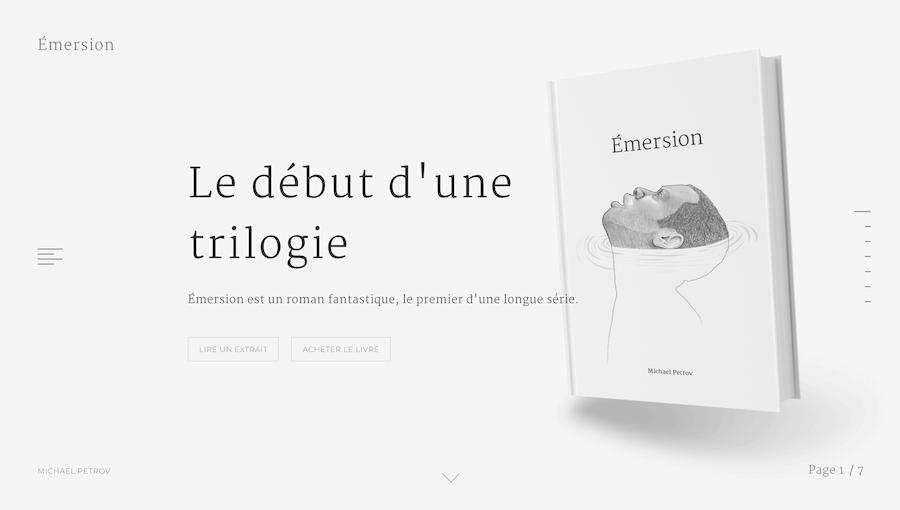 Emersion网页设计