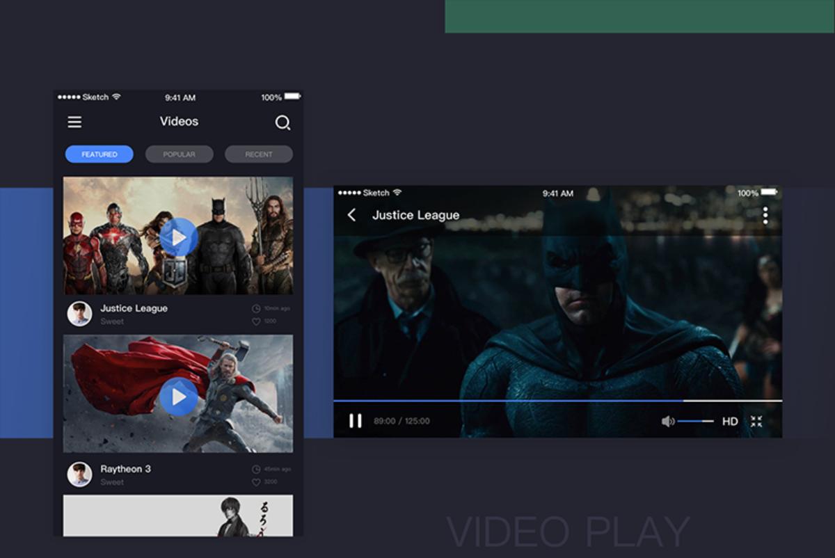 搜索框设计 - video page