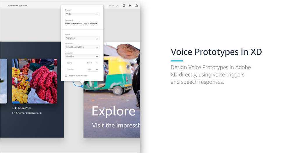 6. Voice UI Kit for Adobe XD