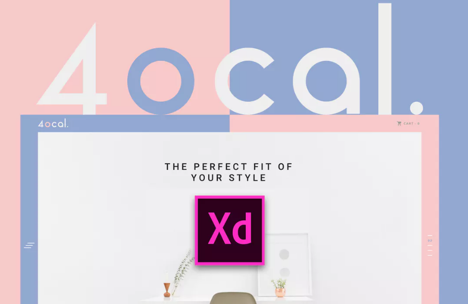 1.4ocal UI Kit for Adobe XD