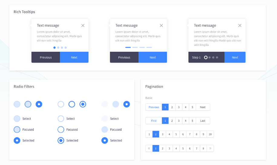 13. FREE Dashboard UI Kit for Adobe XD