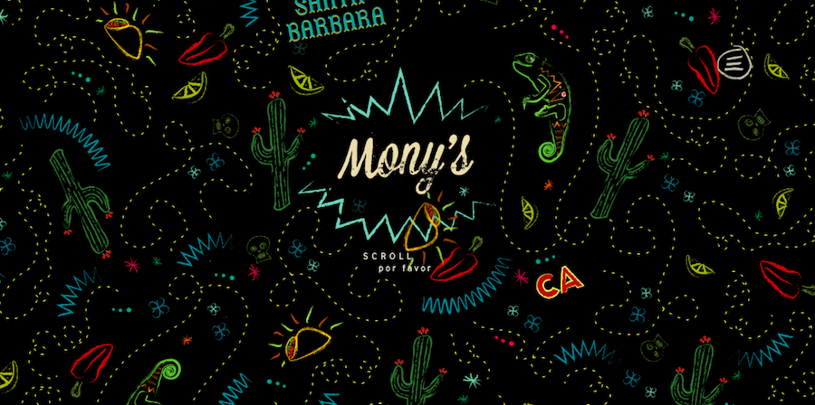Monyssy网站界面