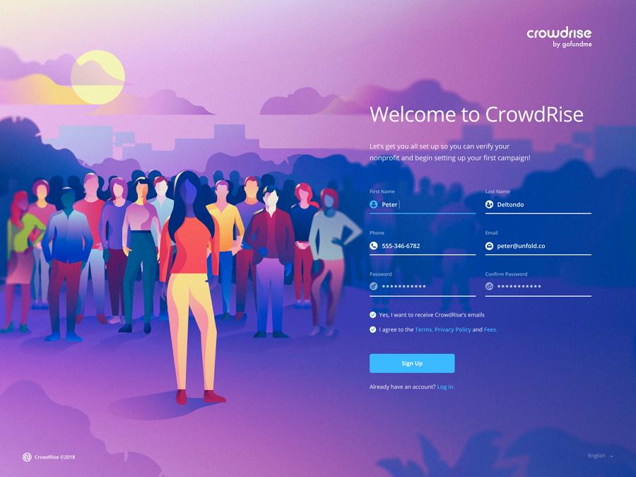 2019年网页设计趋势之三:个性化插画设计