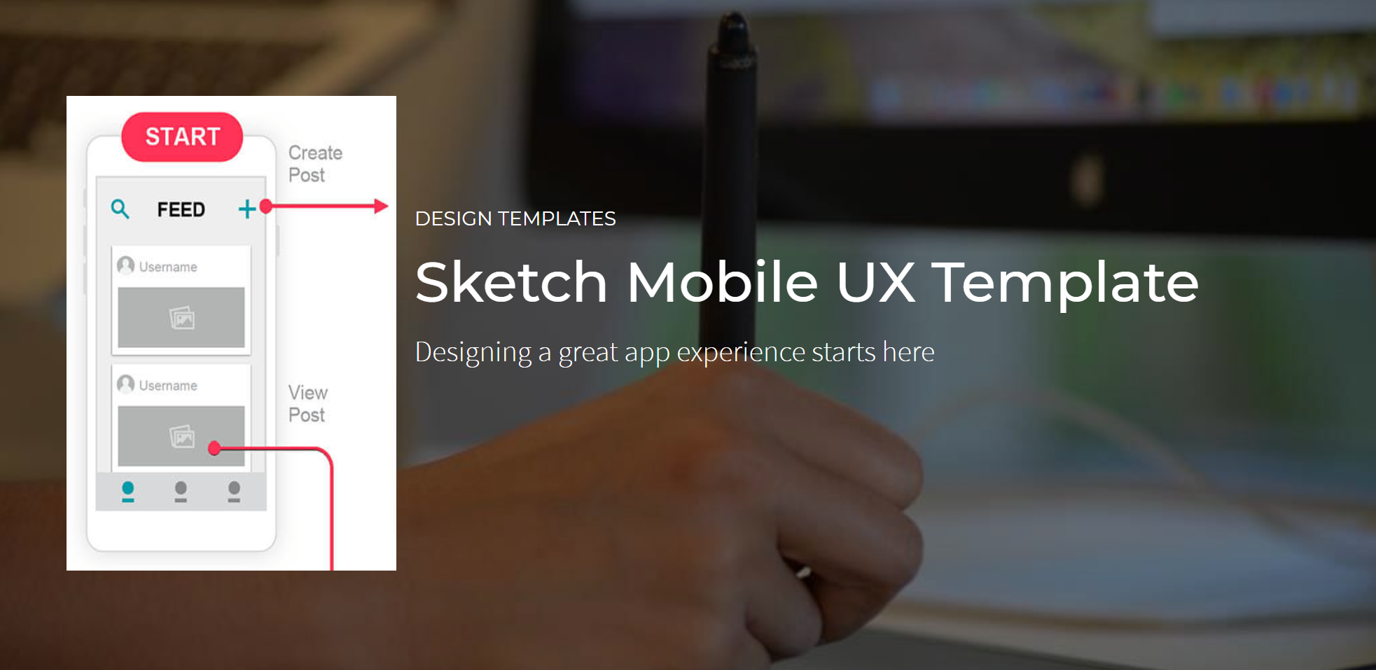Mobile-ux-template
